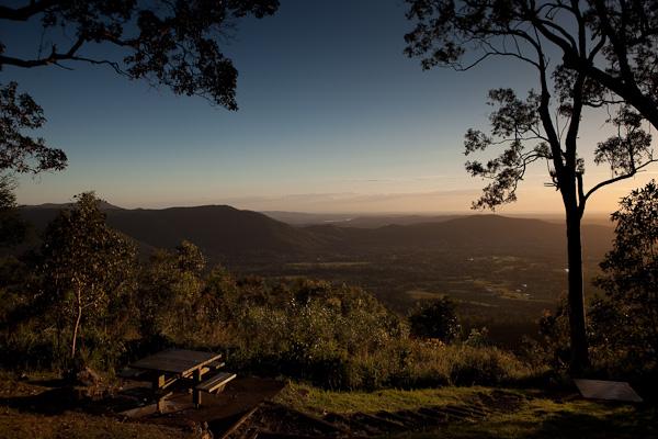 Mt Glorious, last Sunday Morning. (Courtesy of @MarkLobo)